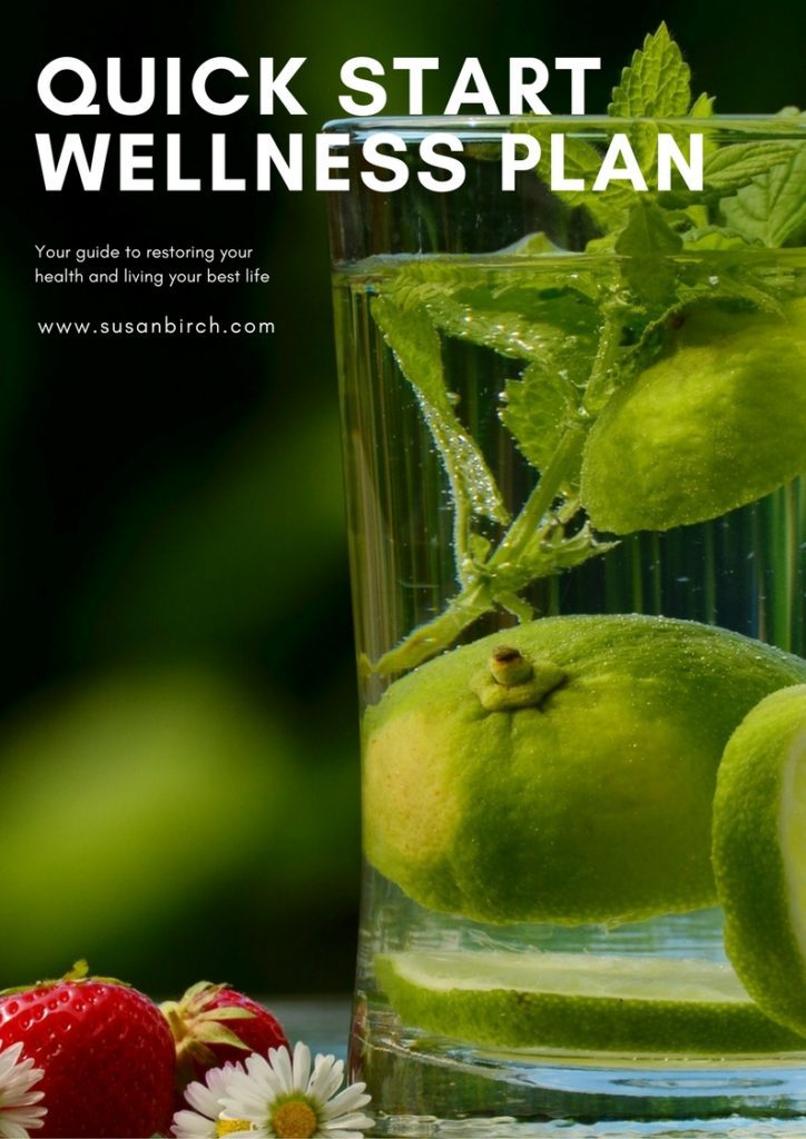 Quick Start Wellness Plan - Susan Birch